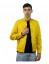 U04 - Men's Genuine Brown Leather Jacket Oil Vintage - 3