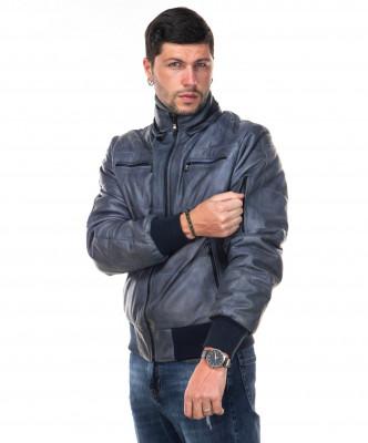 Michelina cappuccio - Giacca Donna in vera pelle di agnello Marrone