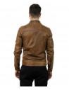 Scialla - Giacca Donna in vera pelle morbida, colore rosso