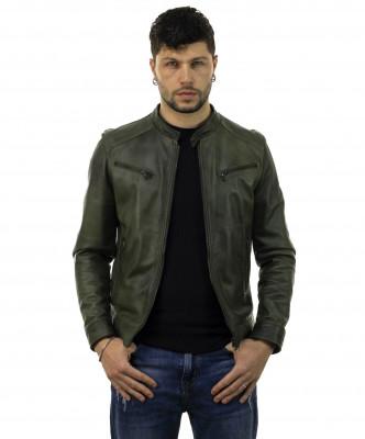 Scialla - Women Jacket of Genuine Dark Brown Leather - 5