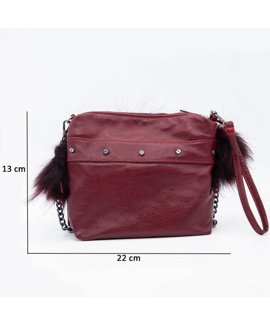 Bomber Napoli - Men's Jacket of Genuine Aged Dark Brown Leather - 4
