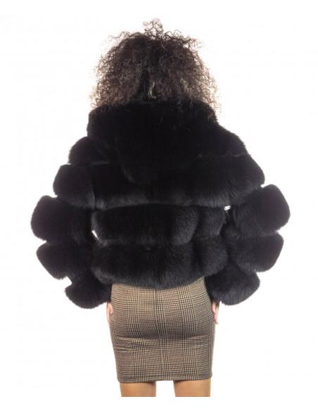 Biker Men - Genuine Soft Bordeaux Leather Jacket - 1