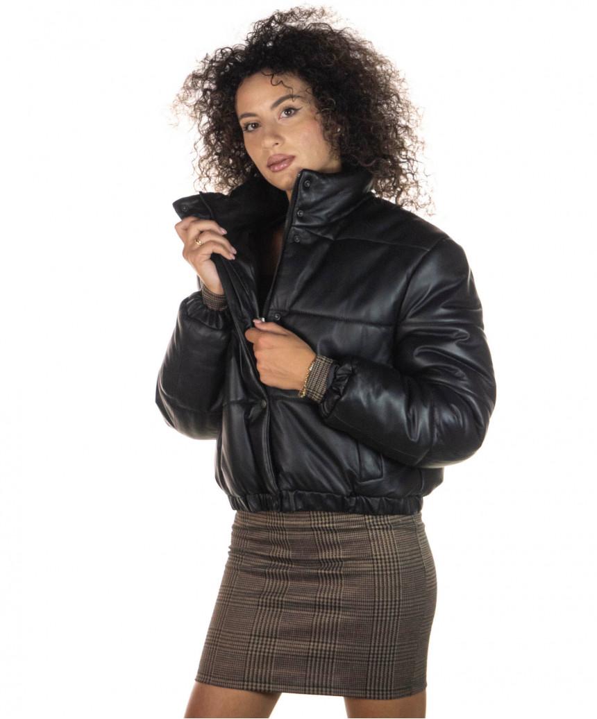 Belfast Uomo - Giacca in Vera Pelle colore Nero Morbida - 4