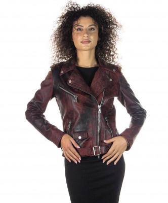 Venezia - Women Jacket of Genuine Soft Black Leather - 4