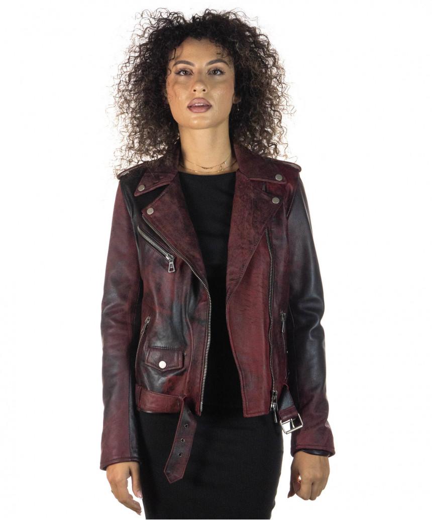 Venezia - Women Jacket of Genuine Soft Black Leather - 5