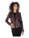 Venezia - Women Jacket of Genuine Soft Black Leather - 6