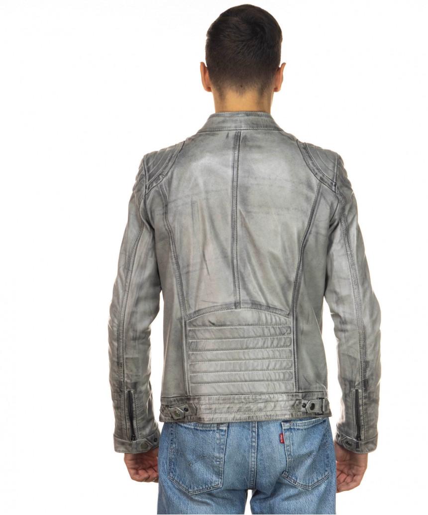 Sasha - Women Jacket of Genuine Soft Black Leather - 4