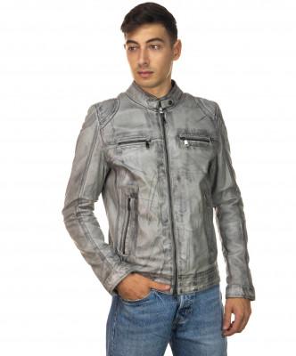 Sasha - Women Jacket of Genuine Soft Black Leather - 6