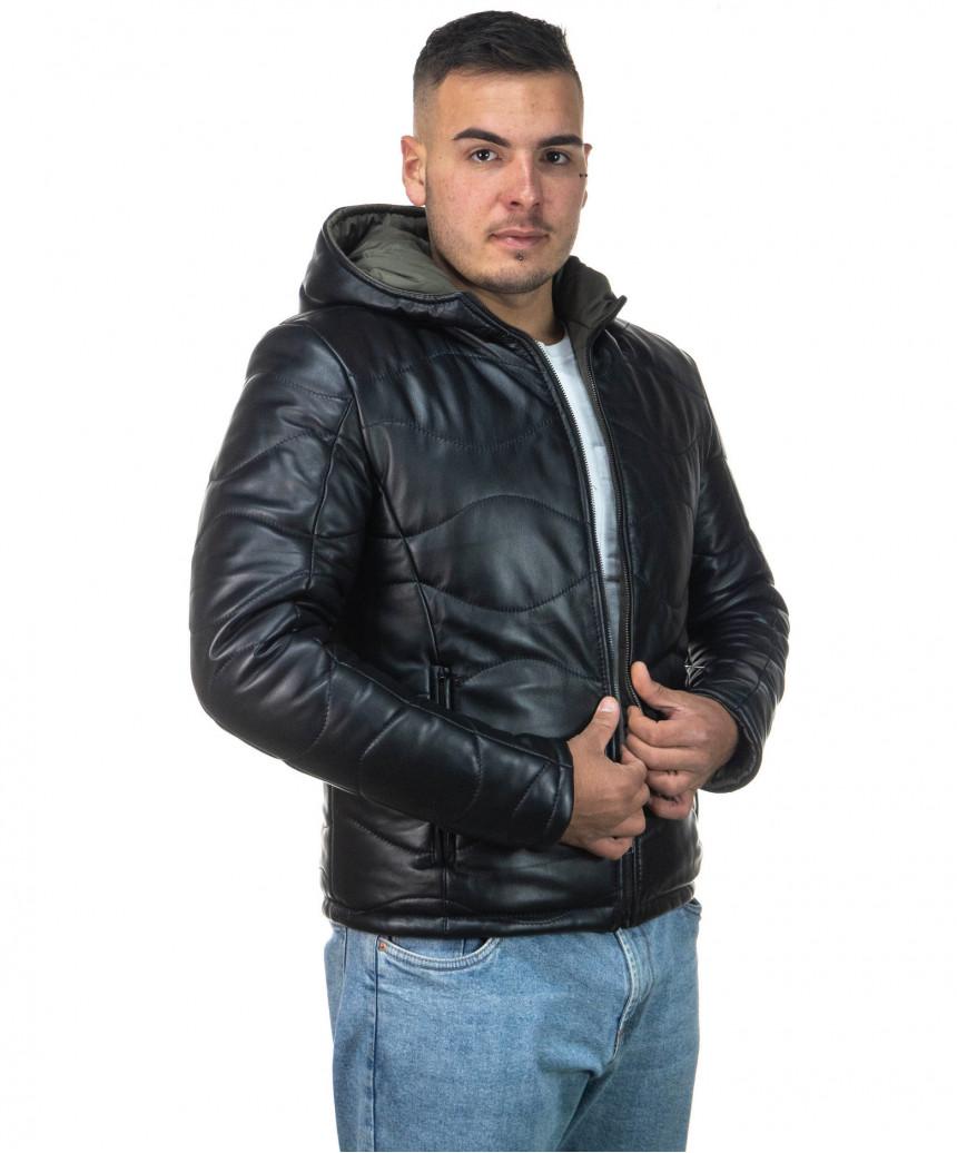 Vale Bis - Giacca Donna in Vera Pelle colore Marrone Invecchiato - 1