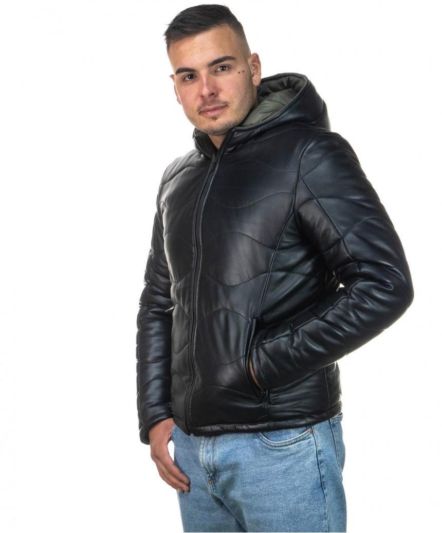 Vale Bis - Giacca Donna in Vera Pelle colore Marrone Invecchiato - 2
