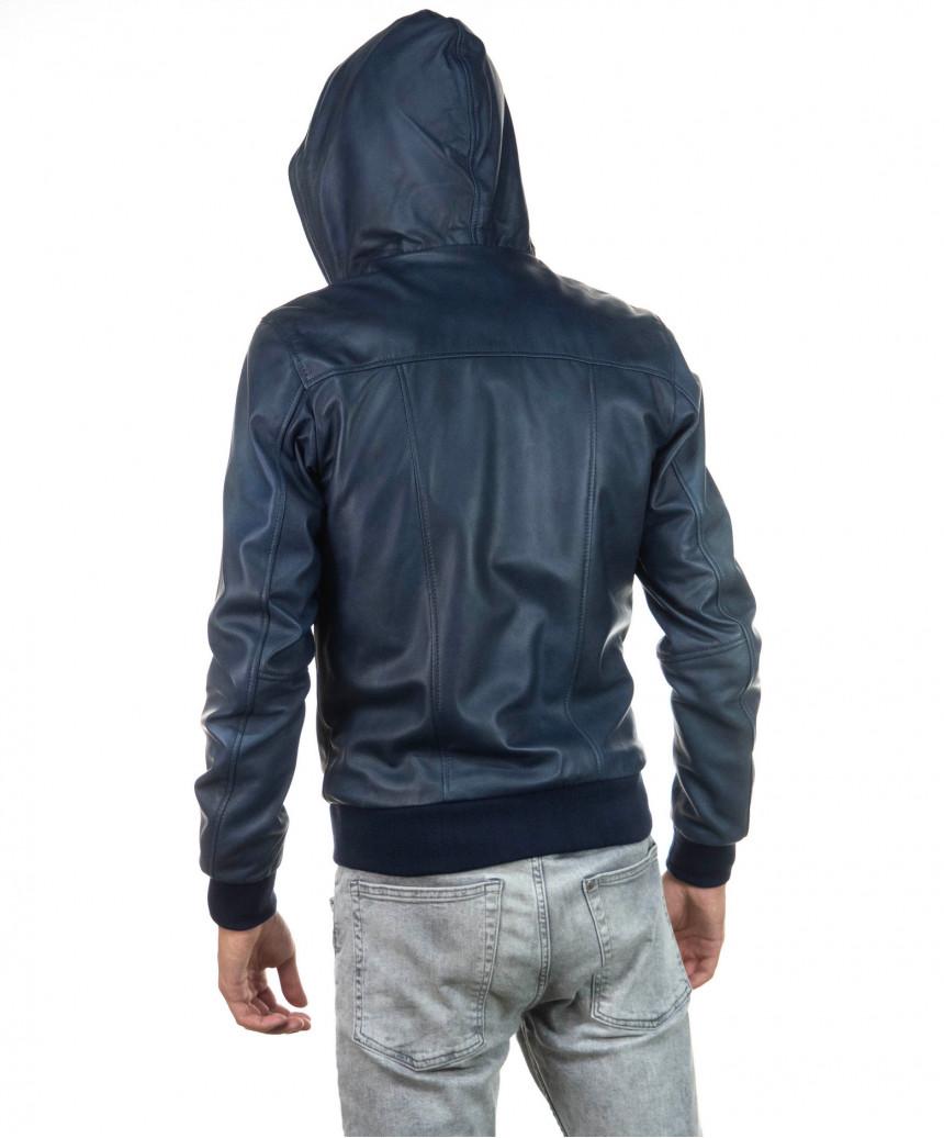 Raff - Women Jacket in Genuine Aged Mud Leather