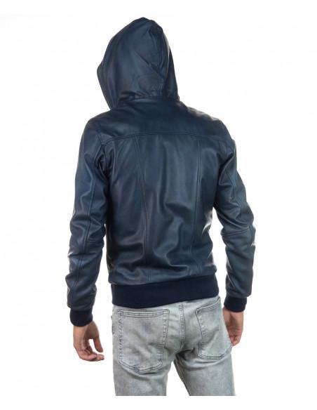 Raff - Women Jacket of Genuine Aged Mud Leather - 1