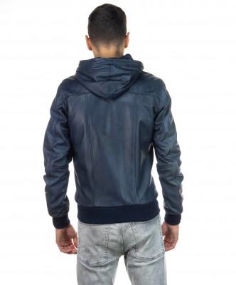 Raff - Women Jacket of Genuine Aged Mud Leather - 2