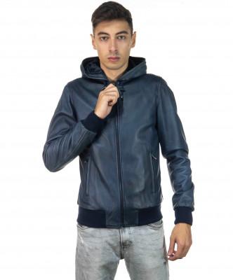 Raff - Women Jacket of Genuine Aged Mud Leather - 4
