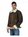 Chiodo Napoli - Men Jacket of Genuine Aged Bordeaux Leather - 7