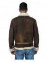 Chiodo Napoli - Men Jacket of Genuine Aged Bordeaux Leather - 8
