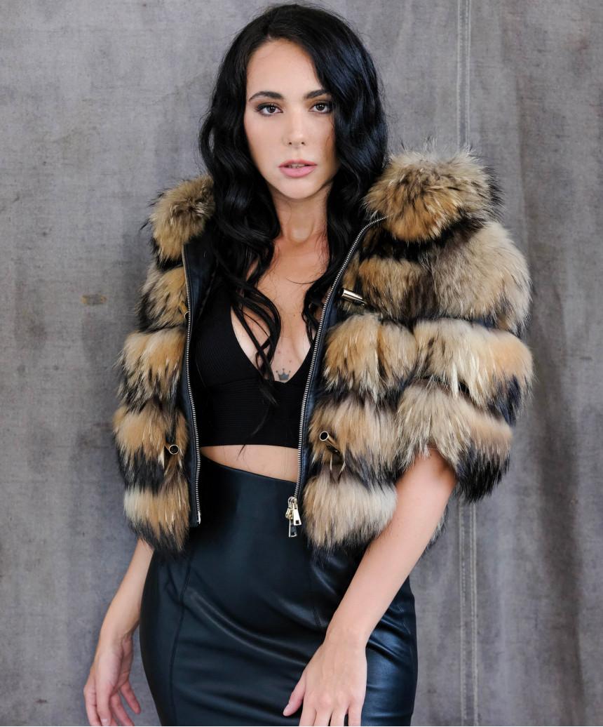 U05 - Giacca Uomo in Vera Pelle colore Rosso Invecchiato - 1