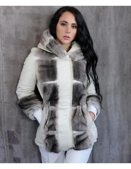 U05 - Giacca Uomo in Vera Pelle colore Rosso Invecchiato - 4