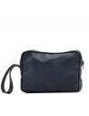 V246 - Men's Jacket of Genuine Distressed Dark Brown Leather - 12