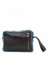 V248 - Men's Jacket of Genuine Aged Dark Brown Leather - 2