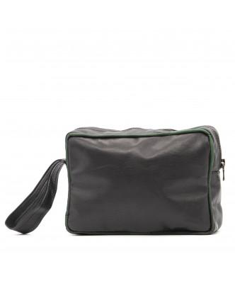V248 - Men's Jacket of Genuine Aged Dark Brown Leather - 5