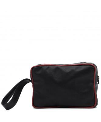 V248 - Men's Jacket of Genuine Aged Dark Brown Leather - 9