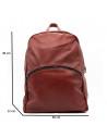 Violetta - Women Jacket of Genuine Aged Green Leather - 3