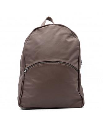 Zara - Giacca Donna in Vera Pelle colore Fango Invecchiato - 4