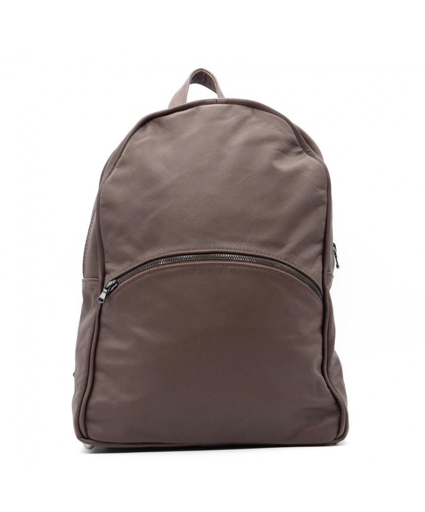 Zara - Women Jacket of Genuine Aged Mud Leather - 4