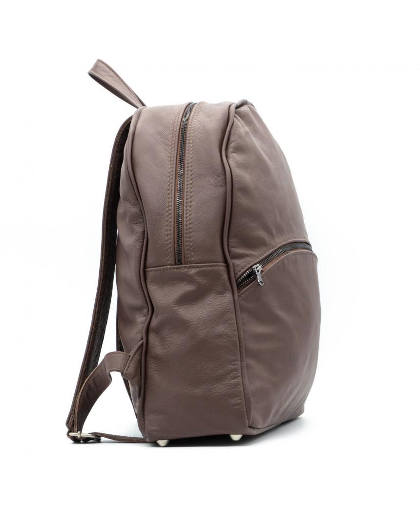 Zara - Women Jacket of Genuine Aged Mud Leather - 5