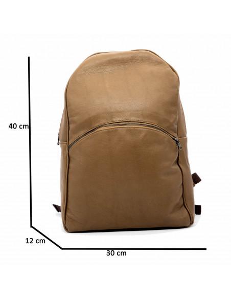 Zara - Women Jacket of Genuine Aged Bordeaux Leather - 1