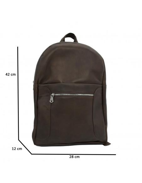 Zara - Women Jacket of Genuine Aged Green Leather - 1