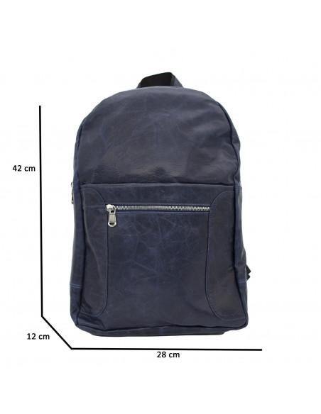 Zara - Giacca Donna in Vera Pelle colore Verde Invecchiato - 4