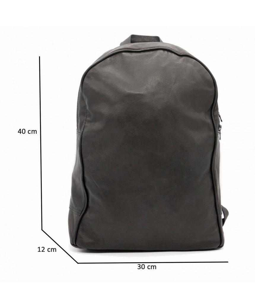 Zara - Giacca Donna in Vera Pelle colore Verde Invecchiato - 6