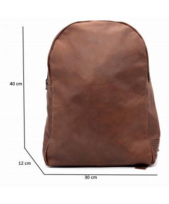 Michelina - Giacca Donna in Vera Pelle colore Blu Invecchiato - 1