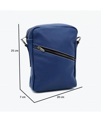 Michelina - Giacca Donna in Vera Pelle colore Blu Invecchiato - 3