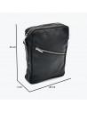 Michelina - Giacca Donna in Vera Pelle colore Blu Invecchiato - 4