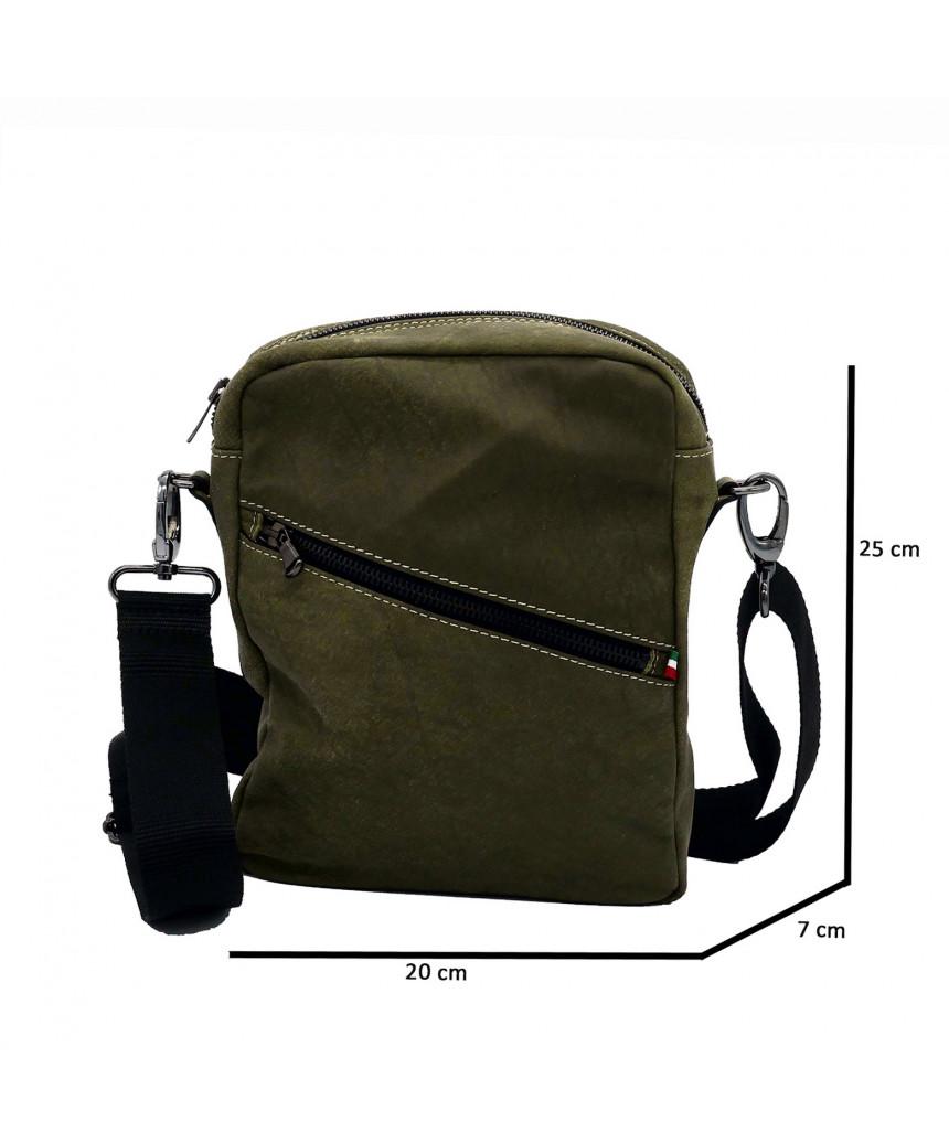 Michelina - Giacca Donna in Vera Pelle colore Blu Invecchiato - 6