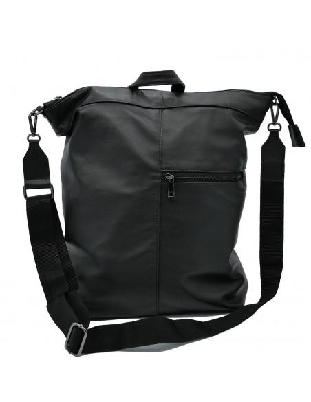 Attila - Men's Jacket og Genuine Blue Oil Vintage Leather - 1
