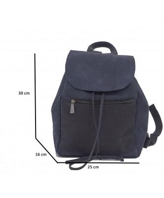 Attila - Men Jacket of Genuine Dark Brown Oil Vintage Leather - 3