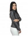 V248 - Men Jacket of Genuine Dark Brown Oil Vintage Leather - 6