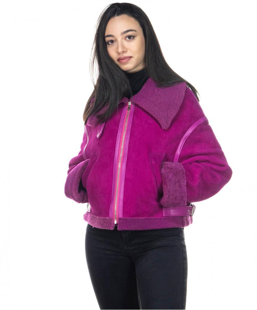 Chiodo Uomo - Men Jacket of Genuine soft Aged Black Leather - 7