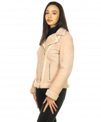 Chiodo Men - Jacket of Soft Dark Brown Oil Vintage Leather - 2
