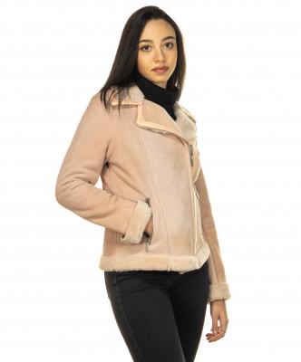 Chiodo Men - Jacket of Soft Dark Brown Oil Vintage Leather - 4