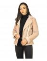 Chiodo Men - Jacket of Soft Dark Brown Oil Vintage Leather - 6