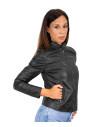 U04 - Men's Genuine Dark Brown Leather Jacket Oil Vintage - 6