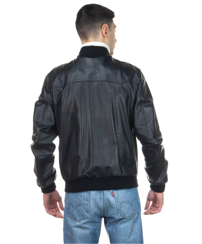 Avatar - Men's Jacket of Genuine Aged Mud Leather - 3