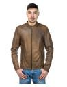 Frank - Men Jacket of Genuine Black Leather - 2
