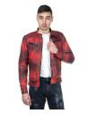 Chiodo Uomo - Men Jacket of Genuine Aged Blue Leather - 2