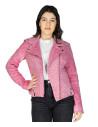 U06 - Men's Genuine Leather Jacket in Aged Brown - 1